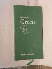 GRECIA TCI Guida d Europa 1966 Turismo Itinerari Guide Manuale Automobilsmo di e
