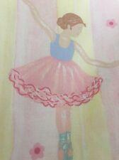 Fabric Remnant Vintage   Laura Ashley  Ballerina Fabric.
