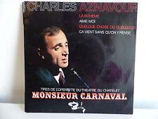 CHARLES AZNAVOUR La boheme Monsieur Carnaval 70862