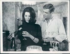 Actor George Peppard Sophia Loren in Operation Crossbow Press Photo