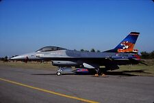 Original colour slide F-16A Fighting Falcon spcl.J-004 of 313 Sqdn. KLu