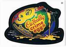 2006 Topps Wacky Packages Series 3 Cadbully Crime Egg Trading Card 22 ANS3