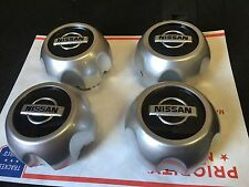 NEW NISSAN SET OF 4 CENTER WHEEL WHEELS RIM RIMS CAP CAPS HUB HUBS 40315-7Z100