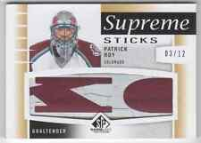 2013-14 SP Game Used Supreme Sticks Patrick Roy 03/12
