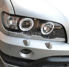 1998-2003 Year For BMW X5 E53 LED Angel Eyes Front Lamps Light Black Housing SN