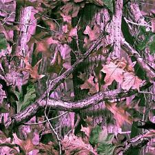 "Realtree Advantage Pink Camo wrap vinyl Decal GLOSS Finish Non laminated 12""x12"""