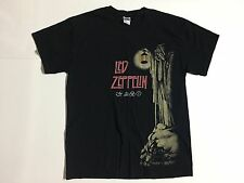 VTG Led Zeppelin Rock Band Men's L Crewneck T-shirt Tee Gildan 100% Cotton