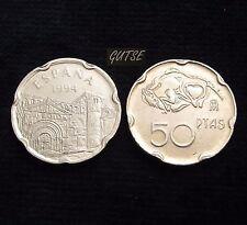 """*GUTSE* 50 PESETAS 1994, """"LA COLEGIATA (SANTILLANA DEL MAR)"""", SIN CIRCULAR."""