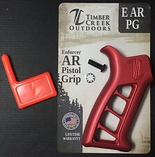 TIMBER CREEK OUTDOORS ENFORCER PISTOL GRIP E PG - ANODIZED RED - FREE SHIPPING!