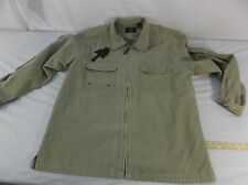 American Eagle Outfitters corduroy M Med Medium jacket Shirt Men's Tan 40029