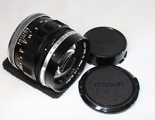 READ! Canon FL 58mm F/1.2 MF Lens Made In Japan