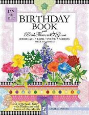 Birthday Book with Birth Flowers and Gems by Anneke Lipsanen (2015, Paperback)