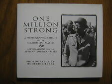 "RODERICK  TERRY Signed  Book (""ONE MILLION  STRONG""-1996 1st  Edition  Hardback)"