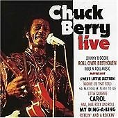 Chuck Berry Live By Chuck Berry ~ A CD With 12 Tracks ~ With Free P&P UK