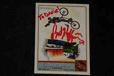 MAT HOFFMAN 2011 TOPPS ALLEN & GINTER'S SIGNED AUTOGRAPHED CARD BMX FREESTYLE