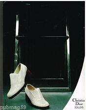 Publicité Advertising 1972 Les chaussures escarpins Christian Dior
