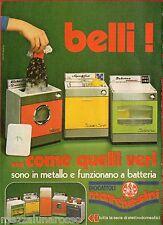 Pubblicità Advertising GIOCATTOLI MARCHESINI 1980 Belli come quelli veri! (2)