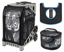Zuca Bag TIGER Sport Insert and Gray Frame, GIFT Lunchbox & Seat Cushion