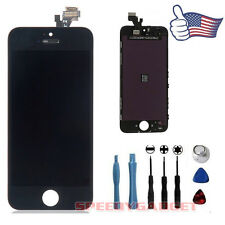Black LCD Display + Touch Screen Digitizer Assembly Replacement for iPhone 5 OEM