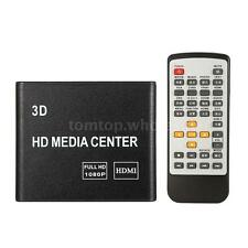 1080P Full HD TV Media Player Box F10 3D Video USB/SD/AV/HDMI Digital Streaming