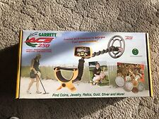 Garrett Ace 250 Metal Detector Black & Yellow w/ Box