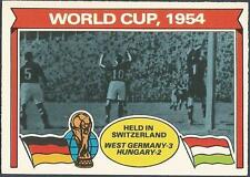 TOPPS 1978 FOOTBALLERS #341-WORLD CUP 1954
