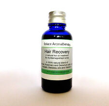 Hair Recovery by Solace Aromatherapy Hot Oil Treatment Dry Hair +Split ends 30ml