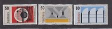 WEST GERMANY MNH STAMP DEUTSCHE BUNDESPOST 1983 BAUHAUS SCHOOL SG 2014 - 2016
