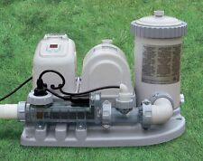 Generatore di cloro Intex clorinatore combo con pompa filtro per piscina 54612