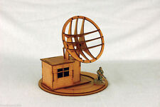 WW2 EUROPE GERMAN RADAR STATION N031 28mm Laser cut MDF Building & Terrain