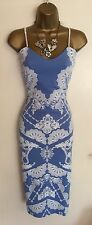 Ladies Wiggle Pencil Wedding Day Evenin Cocktail Cami Party Dress Size Uk 8