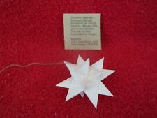 Handcrafted Paper Morvian Star Ornament