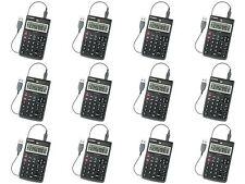 12-Pack Solar Calculators - School Calculator Handheld Teacher Bundle Classroom