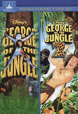GEORGE OF THE JUNGLE 1 & 2 DISNEY DVD NEW