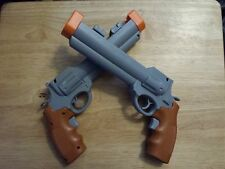 2x COLT SHOOTER GUNS for Nintendo Wii Remote - NEW   (Loc #00)  WESTERN HOUSE