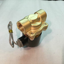 "12V 1/2"" ELECTRIC SOLENOID SHUT OFF VALVE  AUTO FARM INDUSTRY AIR GAS OIL DIESEL"