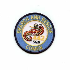 RCAF CAF Canadian 442 Search Rescue Comox Squadron Colour Crest Patch