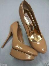 Sexy Jennifer Lopez Designer High Heel Stilettos Womens Shoes sz 8.5M Beige New