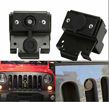 For 07-16 Jeep Wrangler JK Anti-Theft Security Hood Lock Kit Assembly Lock Set