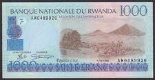 TWN - RWANDA 27a2 - 1000 Francs 1/12/1998 UNC Prefix AW