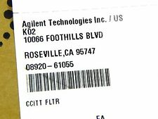 Agilent HP Keysight 08920-61055 Opt 013 c message filter for 8920A/B