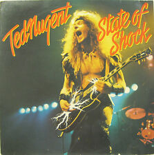 "TED NUGENT ""STATE OF SHOCK""  lp Holland mint"