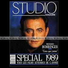 STUDIO - RICHARD BOHRINGER, GEORGE LUCAS, FRANCIS COPPOLA ★ SPECIAL 1989 ★