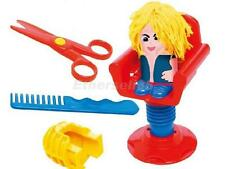 Kids Dough Plasticine Hair Dressing Mould Modelling Tool Children Role Play Toy