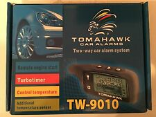 Tomahawk 2-Way Car Alarm and Remote Starter TW-9010 - CANADA