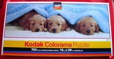 Kodak NAP TIME 700 Panoramic Jigsaw Puzzle NEW SEALED Dogs/Golden Retrievers/Pup