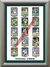 WEST BROM - 1969-70 - REPRO STICKERS A3 POSTER PRINT