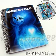 Anime Undertale Sans Papyrus  Journal Memo Notebook Diary Workbooks Study Work