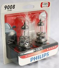 Philips 9008 H13 X-treme Vision Headlight Bulb Upgrade Replacement DOT 60/55w