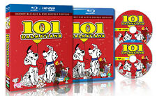 One Hundred And One Dalmatians (1961) - (BLU-RAY/DVD 2-Disc Set)
